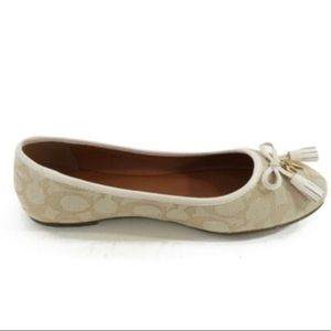 Coach Shoes - Coach Benni slip on flats NWT